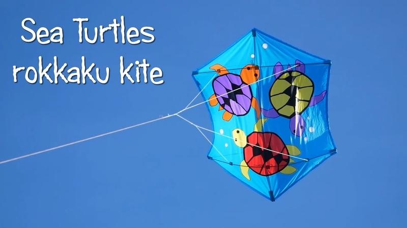 Sea Turtles rokkaku kite