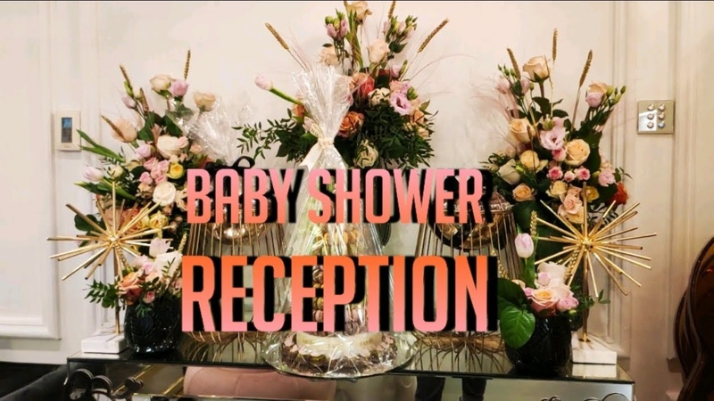 It's A Baby Girl Reception floristry flowers baby Reception florist Hospital baby shower