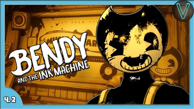 Бенди пришел за мной Эп 2 Bendy And the ink machine Chapter 2