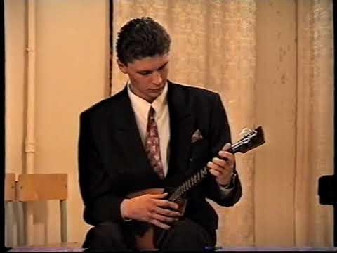 2002 год Виталий Якшин балалайка Луи Дакен Кукушка