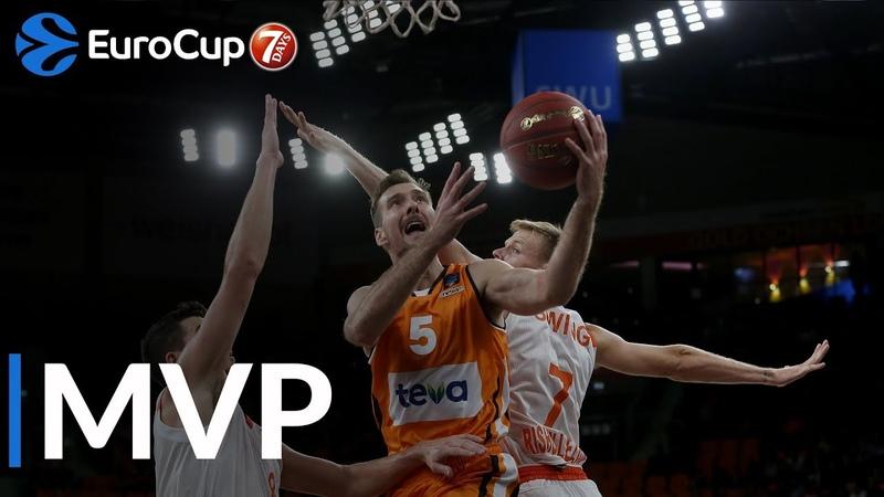 7DAYS EuroCup Regular Season Round 5 co-MVPs Zoran Dragic Derek Willis, ratiopharm Ulm