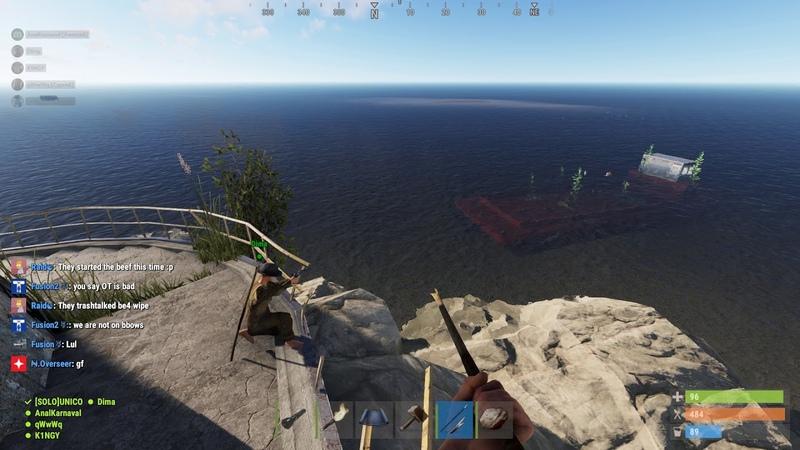 Rust На расстоянии с ревика снайпер