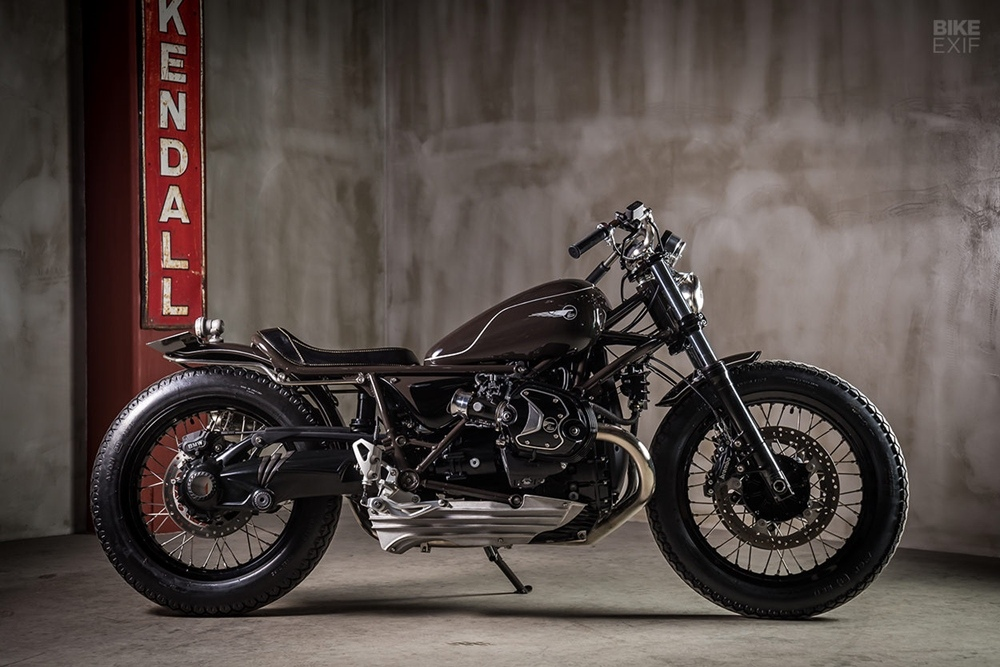 Heiwa Motorcycles: кастом BMW R nineT Bull Face
