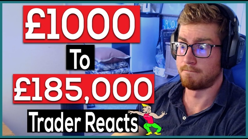 Professional Trader Reacts 17 year old forex trader turns £1000 into £185 000 in 1 week