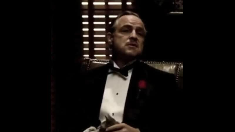 Ты пришел иговоришь ДонКорлеоне мненужнасправедливость Ноты просишь безуважения тыне предлагаешь дружбу тыдаже нен