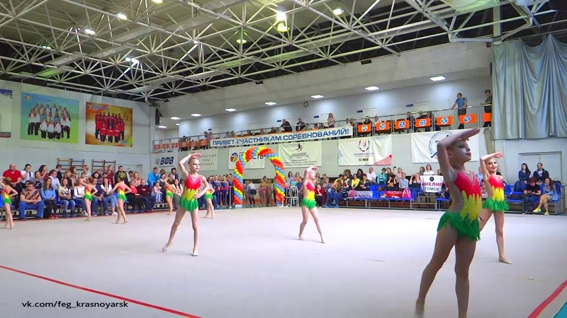 Олимпия Амелия 6 8 лет Турнир Апрелинка Эстетическая гимнастика