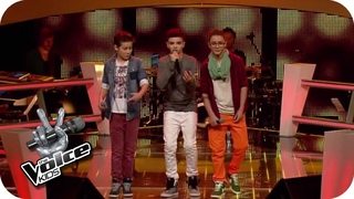 Bruno Mars - Treasure (Noah, Stepan, Theodore) | The Voice Kids 2014 | BATTLE | SAT.1