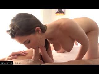 Halle Von & Molly Jane [ Lesbians &  Massage / Intimate haircut, Cumshot on ass, horsewoman, Cunnilingus]