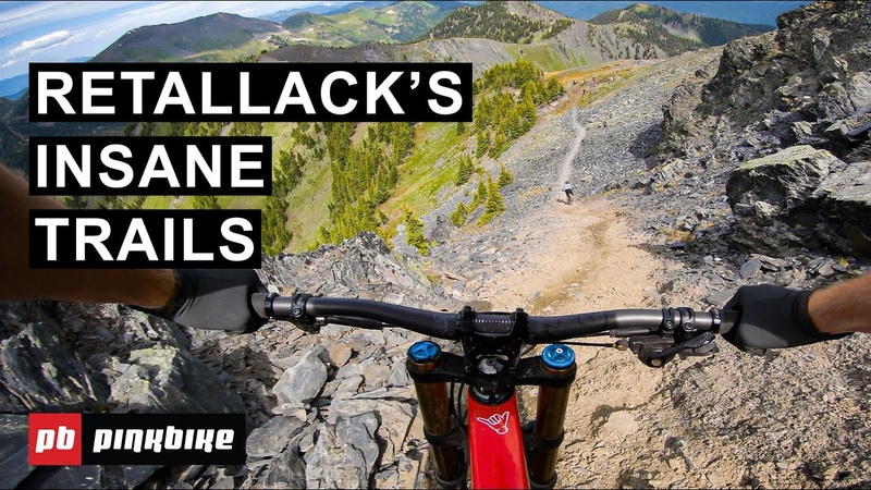 Taking Over Retallack with Pro Freeriders Pinkbike Employees   First Impressions