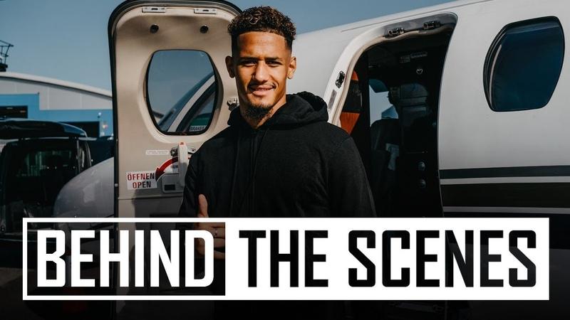 ✈️William Saliba's journey to Arsenal 🅰️ 🅰️ 🅰️Access all areas