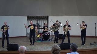 Brevis Brass Band на фестивале OPEN AIR FEST-2019. Екатеринбург.