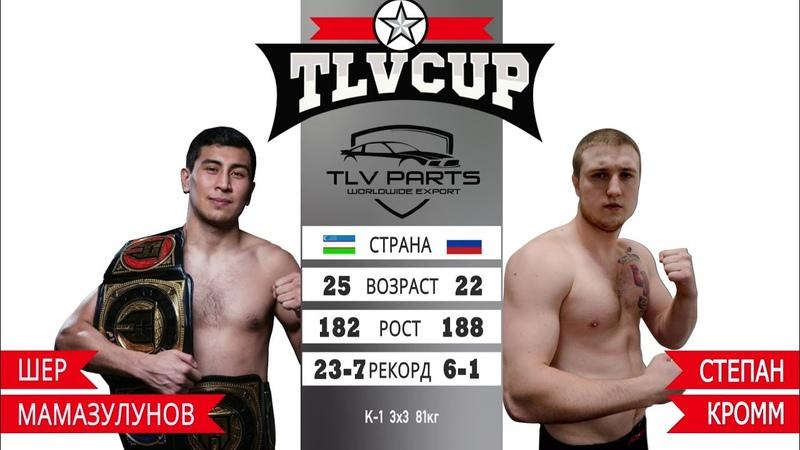 Шер Мамазулунов vs Степан Кромм TLV CUP Sher Mamazulunov Нокаут Боец из Узбекистана