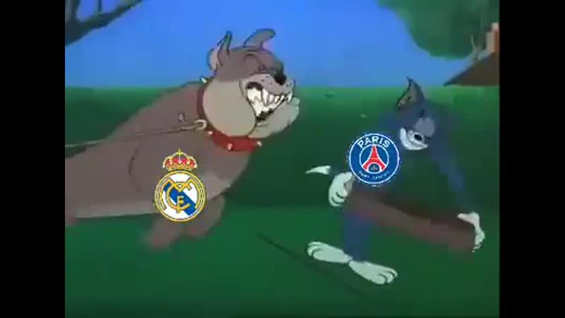 PSG vs. Real Madrid