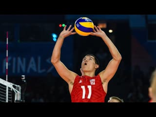 Micah christenson best setter in volleyball nations league 2019