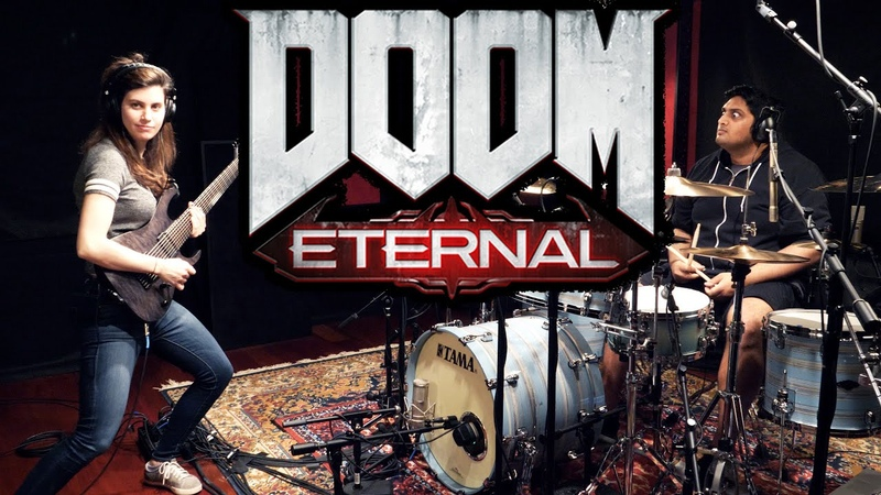 Doom Eternal Cover The Only Thing They Fear Is You Mick Gordon
