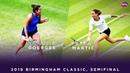 Julia Goerges vs. Petra Martic 2019 Birmingham Classic Semifinal WTA Highlights