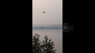 Вот так МЧС в Сибири тушит лесные пожары  Туши воду, чтобы пожары боялись. Видимо, гореть леса будут
