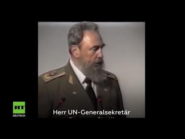 Prophetische Rede von Fidel Castro: Warnung bei UN-Konferenz 1992 vor Umweltkatastrophe in Brasilien