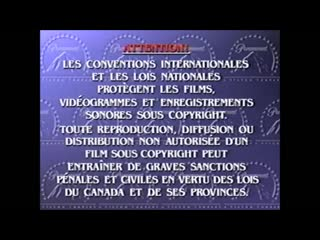 VHS Opening #272 Opening to my 2005 Reprint French Canadian VHS of Save the Last Dance with Black Reels RARE