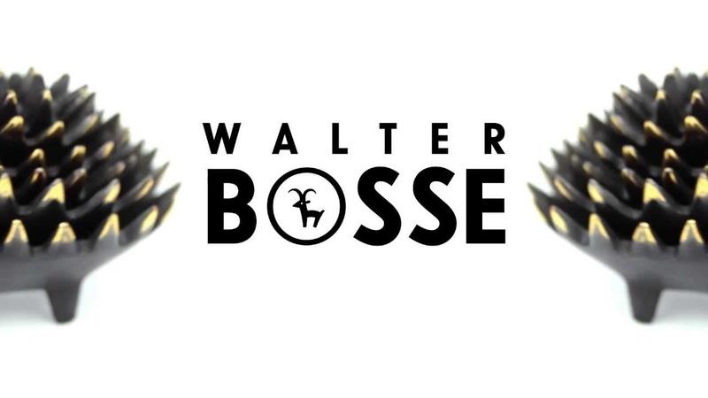 Walter Bosse Hedgehog Ashtrays Modern Vienna Bronze