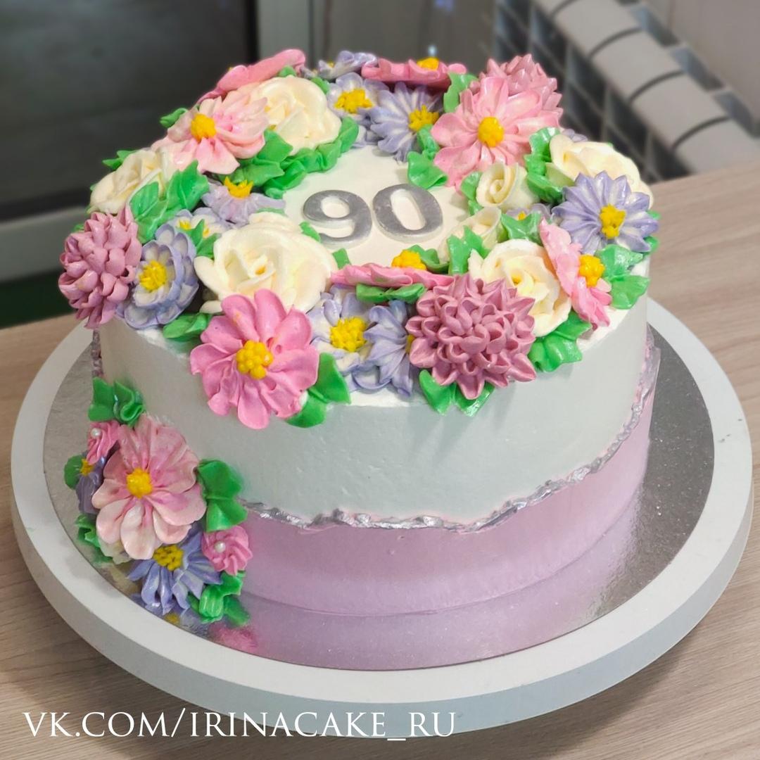 Торт для бабушки на 90 лет (Арт. 555)