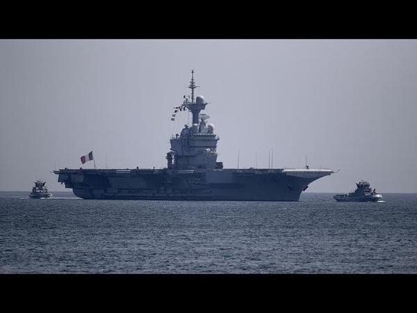 Зараженный авианосец на Шарль де Голле инфицированы 668 моряков…