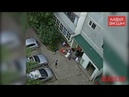 В Благовещенске дети взорвали огнетушитель возле жилого дома