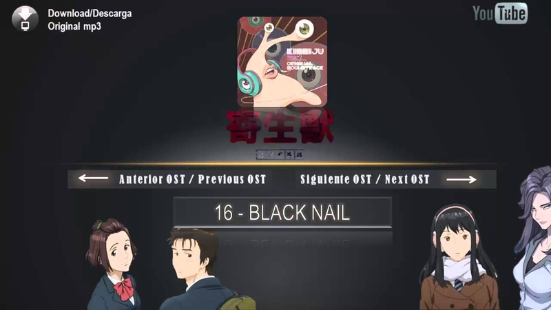 Parasyte (anime) Original Soundtrack - 16 BLACK NAIL