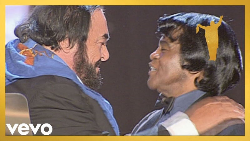 Luciano Pavarotti James Brown It's A Man's Man's Man's World