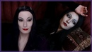 Morticia Makeup Transformation Tutorial The Addams Family