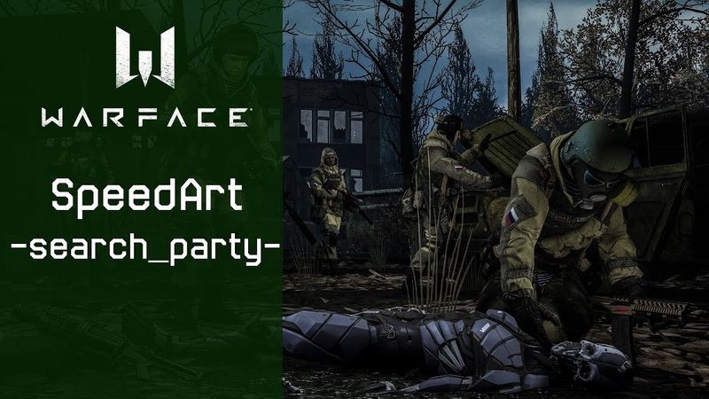 Warface SpeedArt || Art -search_party-
