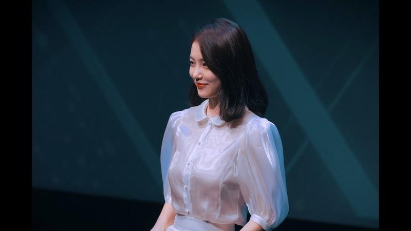 [4K]191018 BIAF 홍보대사 신예은 직캠 (Shin Ye Eun Fancam)(2019부천국제애니메이션페스티벌 개막식 BIAF)