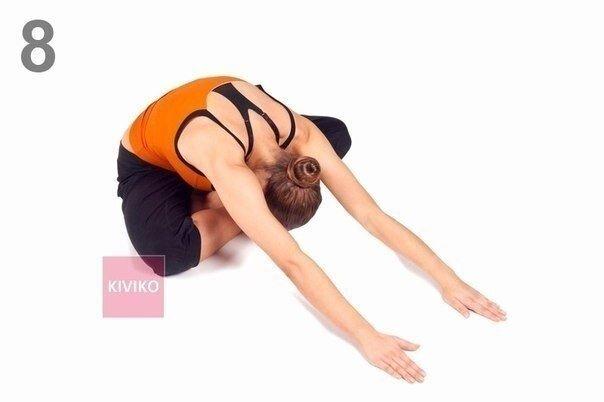 Йога: упражнения для спины.