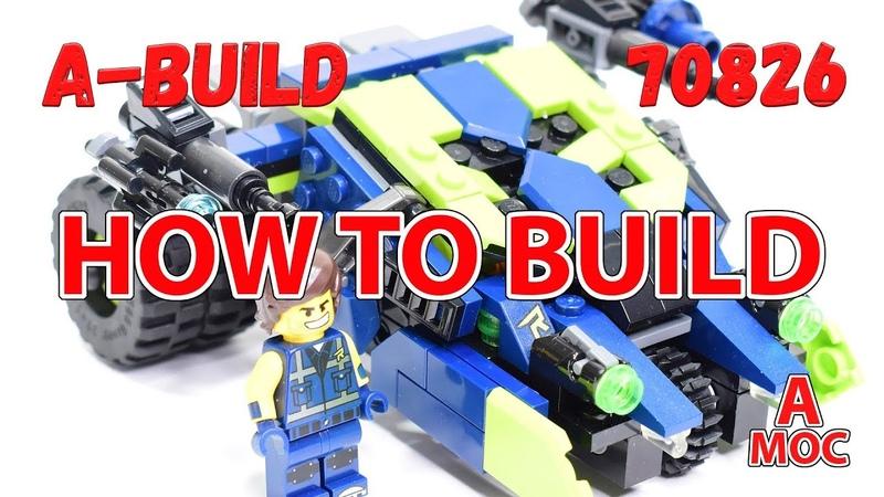 How to build REX`s Tumbler LEGO 70826 alternative build tutorial 2019 (A MOC)