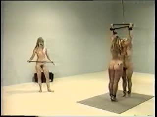 Nuwest fcv-029 three naked women (bdsm,бдсм, подчинение, порка, бондаж)