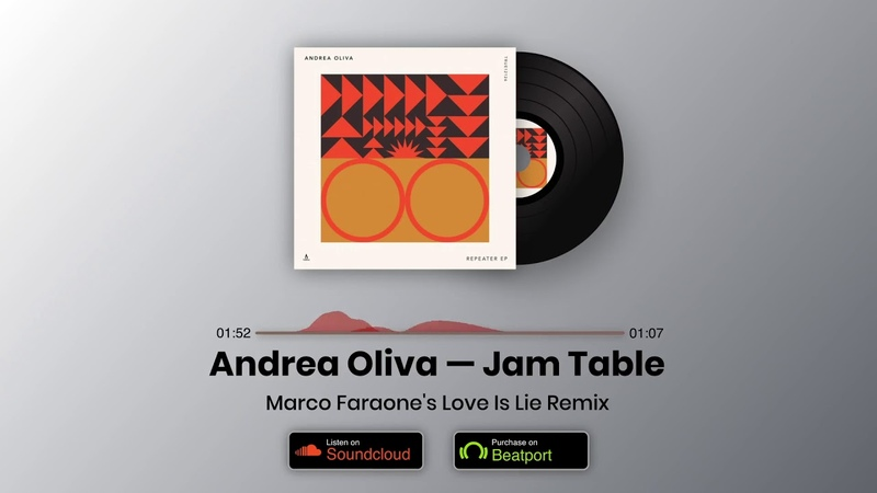Andrea Oliva - Jam Table (Marco Faraones Love Is Lie Remix)