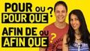 L'Expression du BUT en français : POUR, POUR QUE, AFIN DE, AFIN QUE 📔✏️