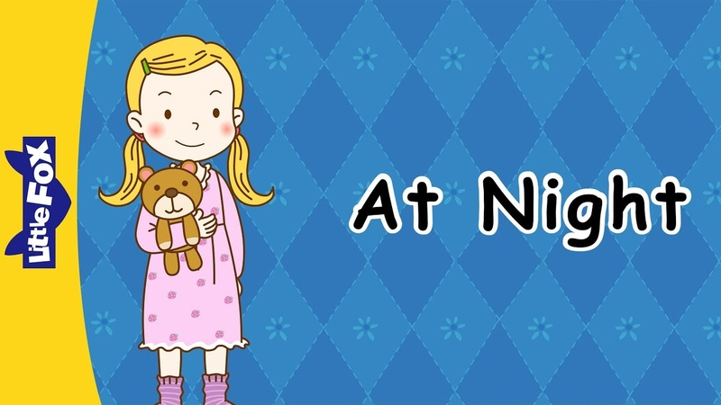 At Night Early Learning Phonics Little Fox Animated Stories for Kids