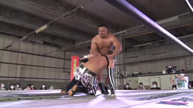 Antonio Honda vs. Danshoku Dino vs. Chris Brookes vs. Yuki Ino