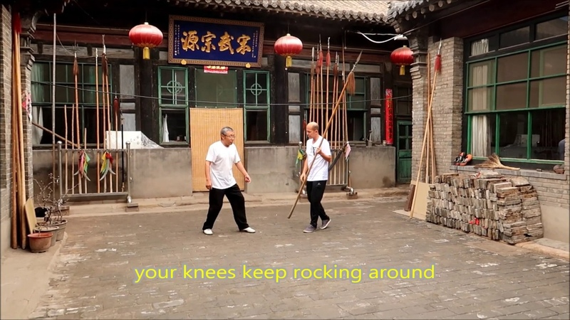 Song Family Xingyi Spear Practice