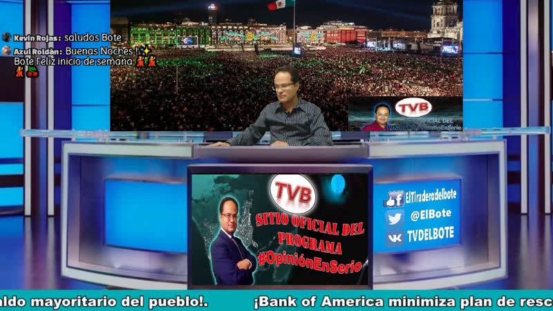 OpiniónEnSerio 6 Abril 20 ¡Posible ayuda de Cuba por COVID19 ¡Bank of América minimiza plan económico de AMLO ¡AMLO manti