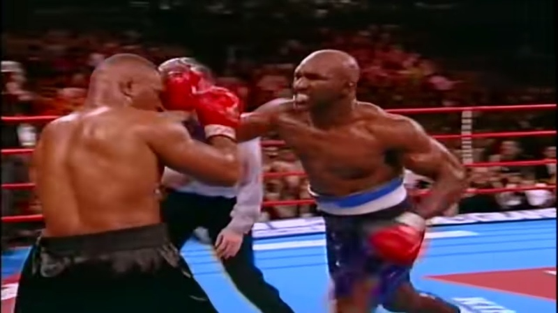 Iron Mike Tyson vs Evander The Real Deal Holyfield 1996 highlights
