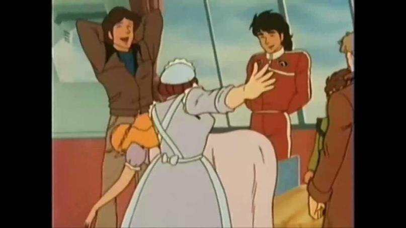 Мда… а ведь в VLD другая няня, Дайек, врезала Лэнсу за попытку подорвать авторитет Лотора