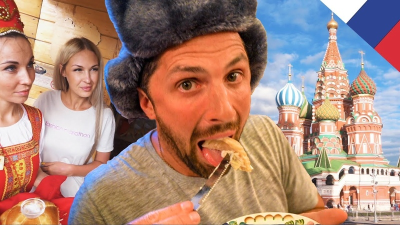 EPIC RUSSIAN FOOD FEAST | Moscow, Russia
