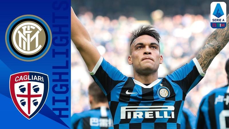 Интер 1-1 Кальяри Обзор матча чемпионата Италии Серия А