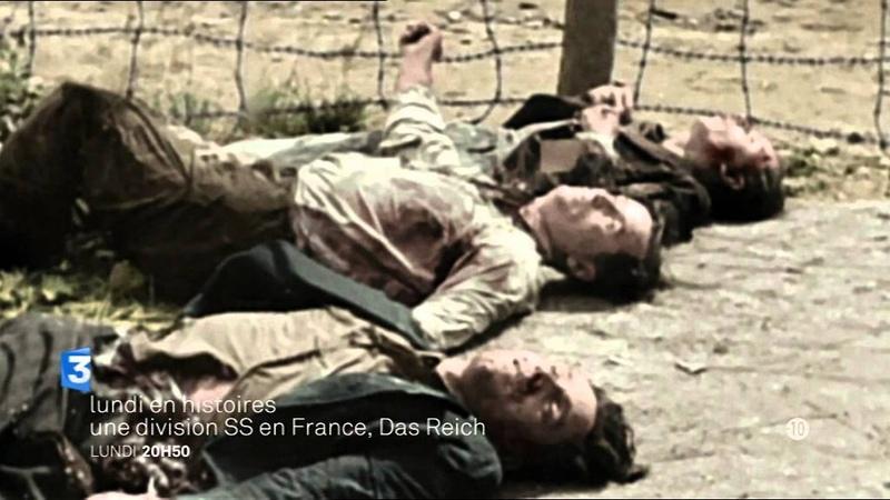Lundi en histoires Une division S S en France Das Reich Bande annonce Отрывок из передачи