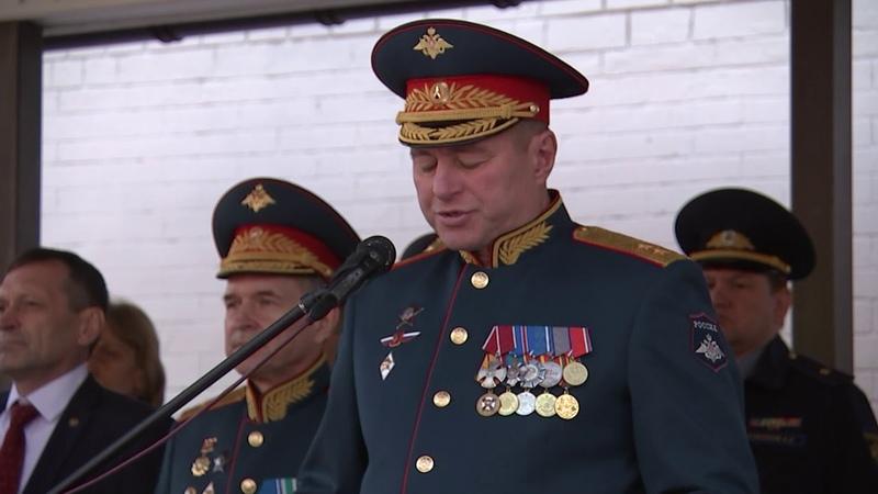 Приведение к военной присяге курсантов ВУ МО РФ 31 08 2019