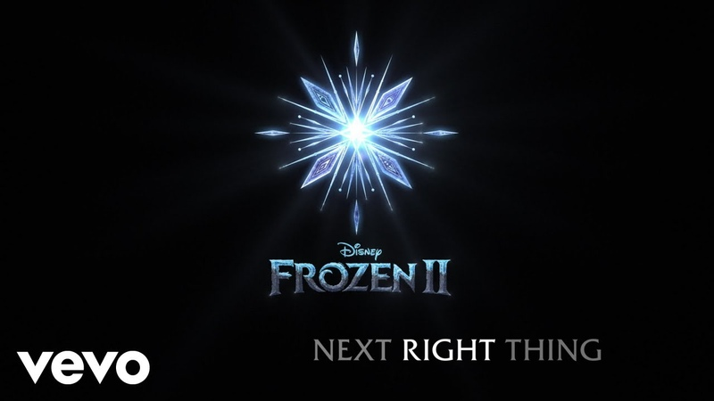 Kristen Bell The Next Right Thing From Frozen 2 Lyric Video