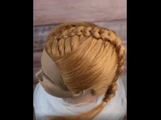 Мастер класс плетения оригинальной вывернутой косы