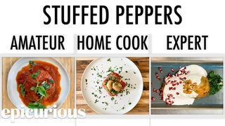 4 Levels of Stuffed Peppers: Amateur to Food Scientist | Epicurious